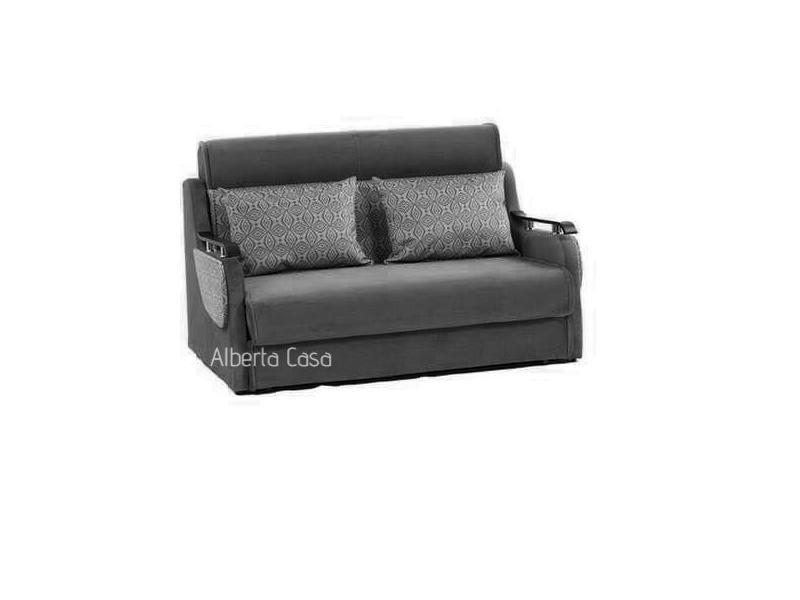 Cum sa integrezi o canapea extensibila cu 2 locuri intr-un decor spectaculos