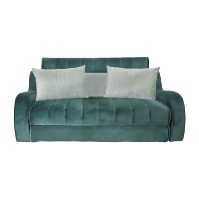 Canapea extensibila 3 locuri, extensie tip pat matrimonial, Studio, culoarea verde