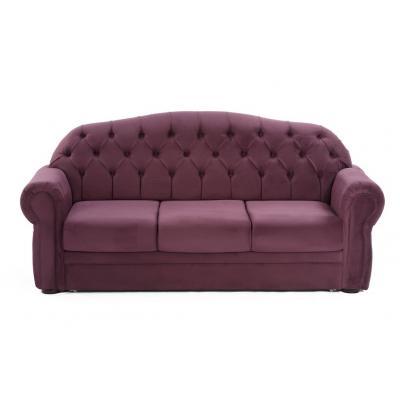 Canapea extensibila Perla, culoarea Mov