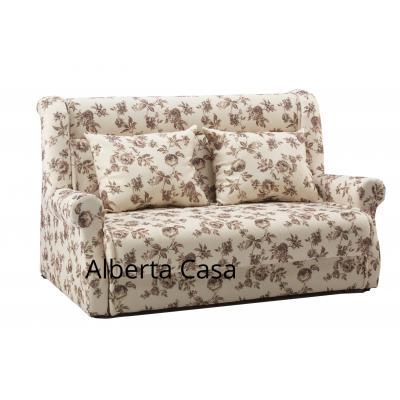 Canapea extensibila Vogue, culoarea Crem cu Flori
