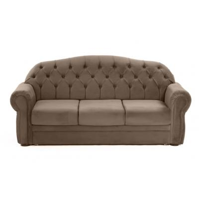 Canapea fixa Perla, culoarea Maro