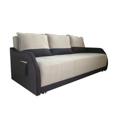 Canapea extensibila Dauphine, culoarea negru/ bej