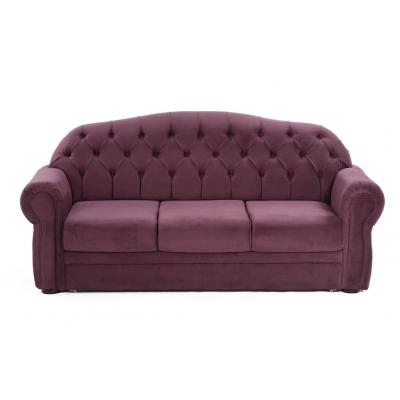 Canapea fixa Perla, culoarea Mov