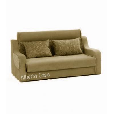 Canapea extensibila 3 locuri, extensie tip pat matrimonial, Havana, culoarea Maro