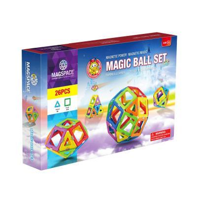 Magspace 26 Piese - Magic Ball Set - Joc Magnetic Educativ de Constructie 3D