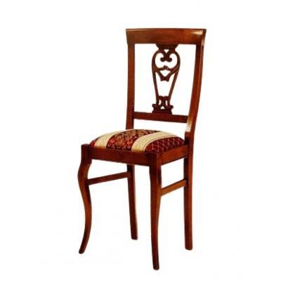 Set de 4 scaune din lemn masiv, Mongolfiera, nuc