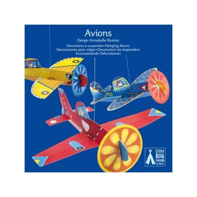 Decoratii mobile Djeco, Avioane