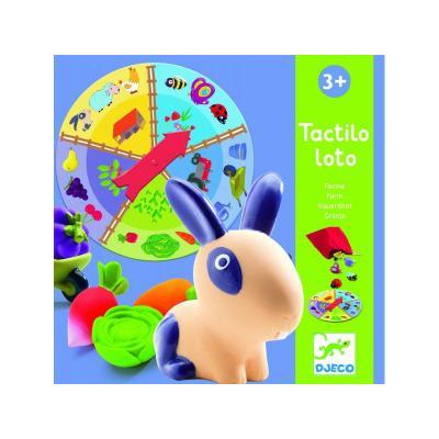 Ferma Tactilo Loto joc Djeco