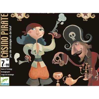 Joc de carti Djeco Casino Pirate