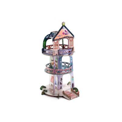 Turnul din povesti Djeco macheta 3D